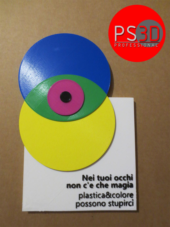 Logo 3D a colori