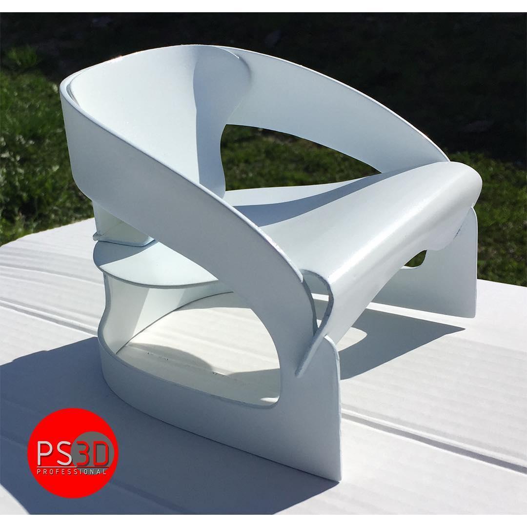 Sedia didesign stampate in 3D