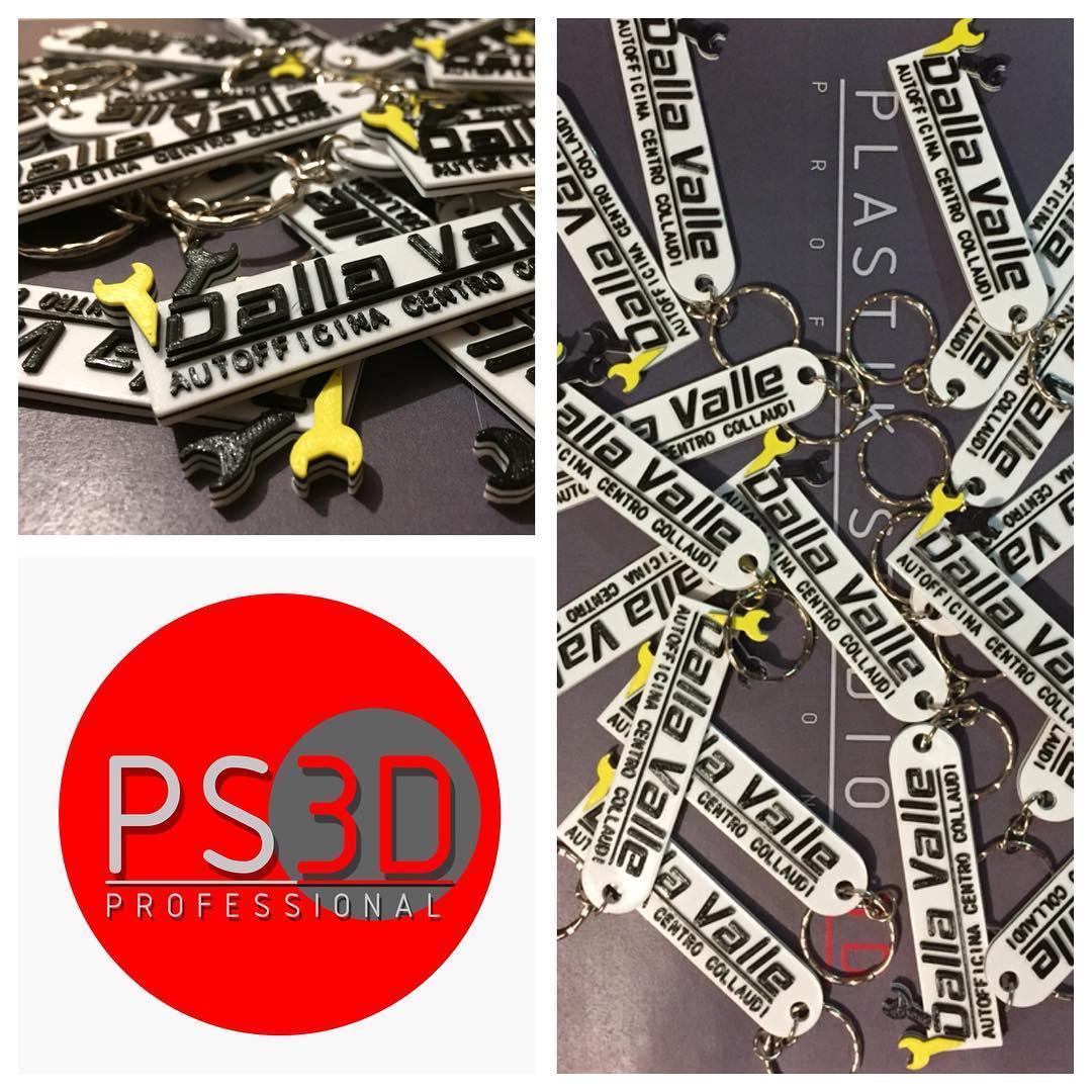 Portachiavi stampati in 3D