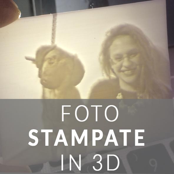 FOTOGRAFIE STAMPATE IN 3D